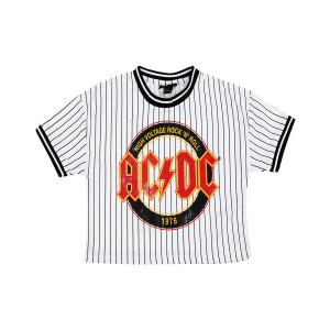 AC/DC High Voltage Juniors Crop Top