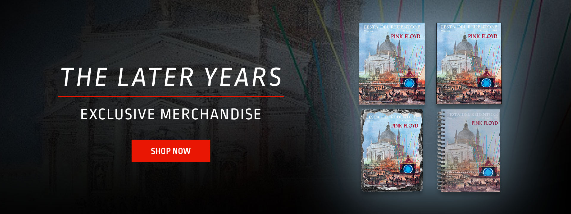 The Later Years - Venice Merchandise