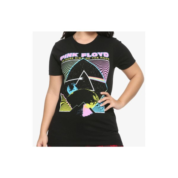 DARK SIDE OF THE MOON CLASSIC T SHIRT ROCK PINK FLOYD OFFICIAL LICENSED