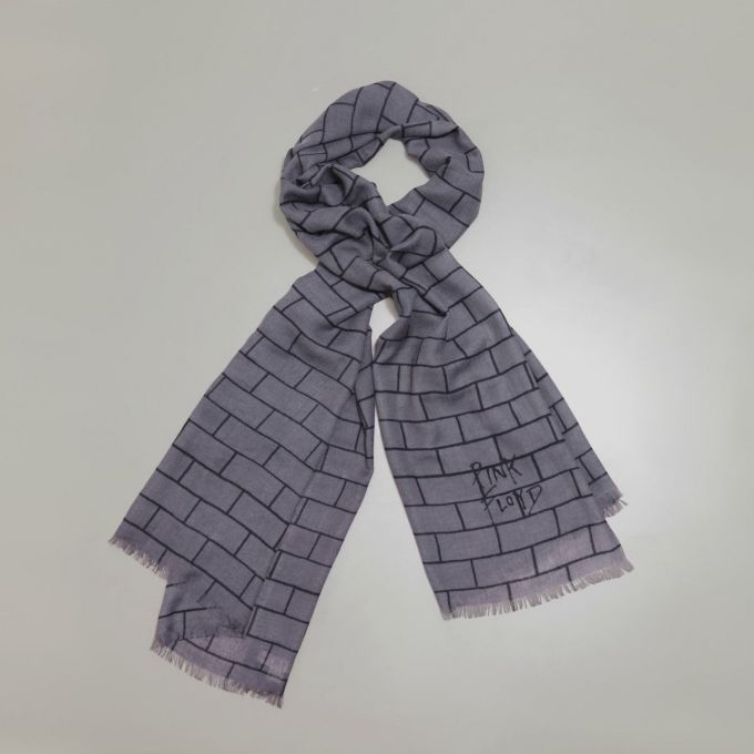The Wall Gray Scarf