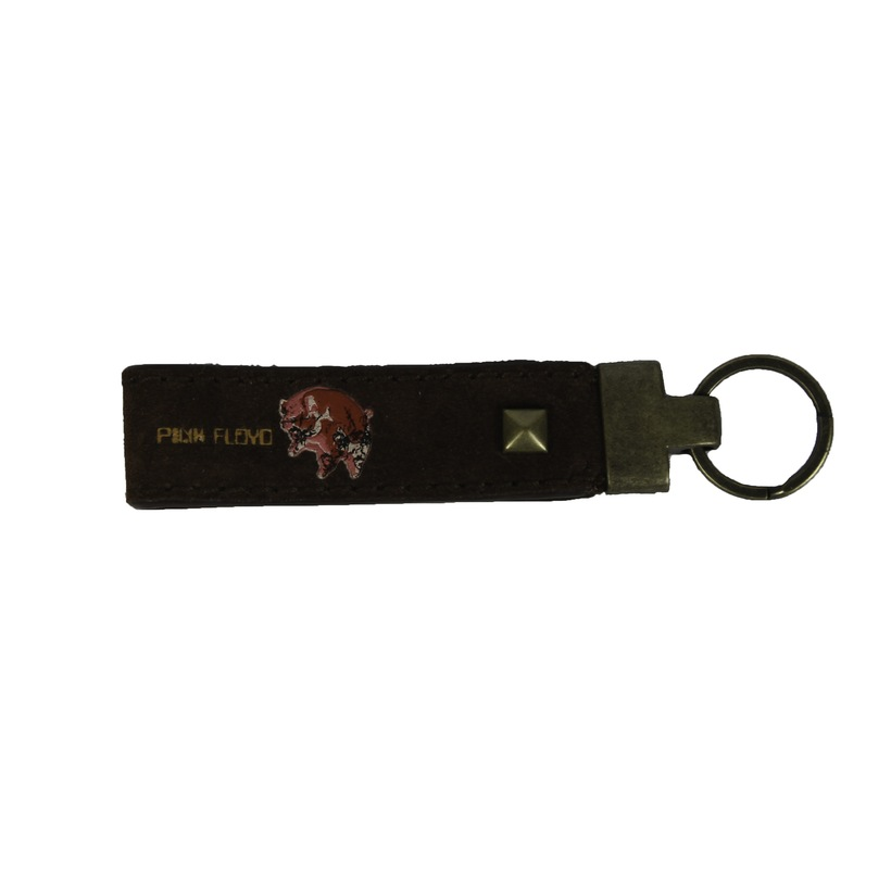 Pig Leather Key Ring