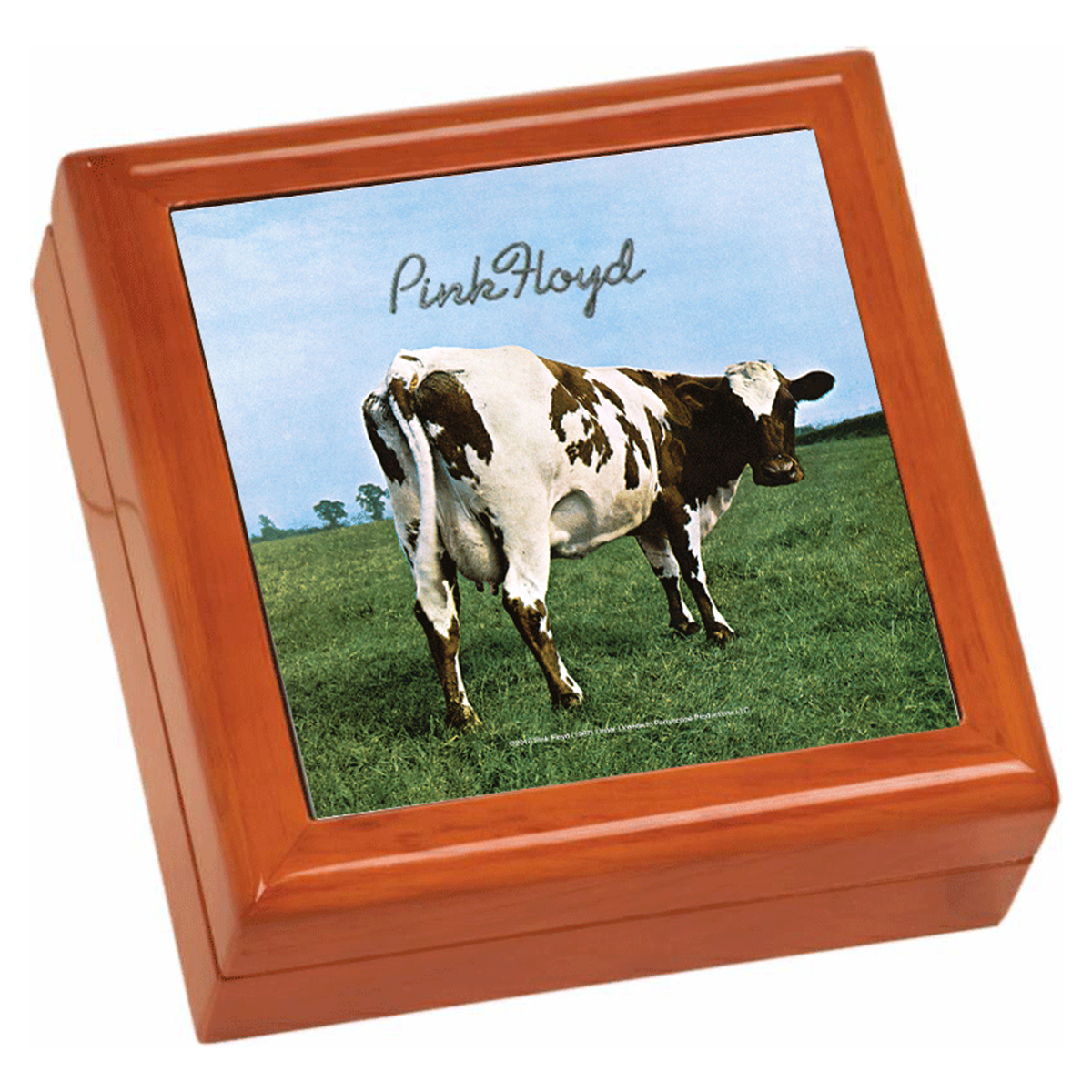 Atom Heart Mother Wooden Keepsake Box