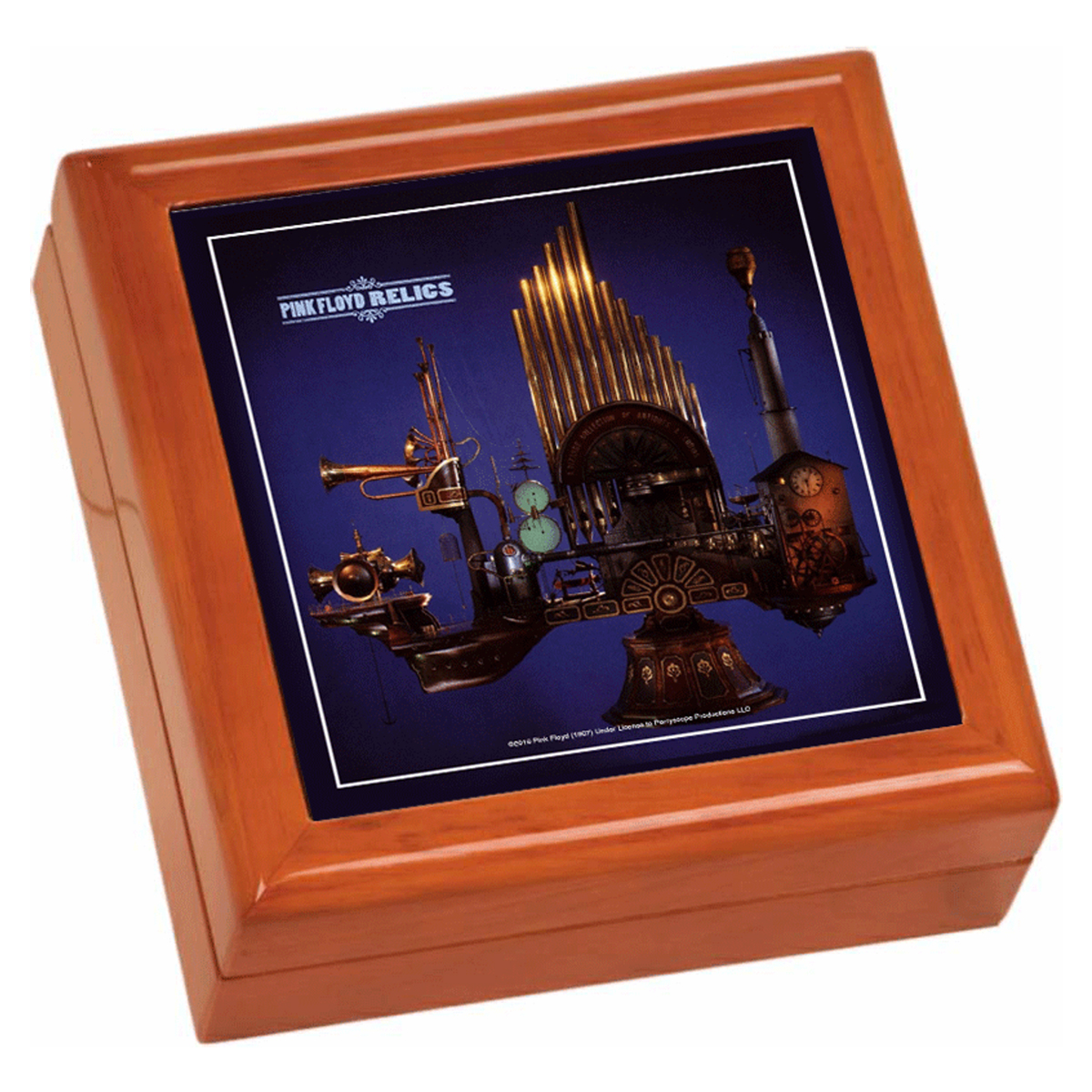 Relics Wooden Keepsake Box