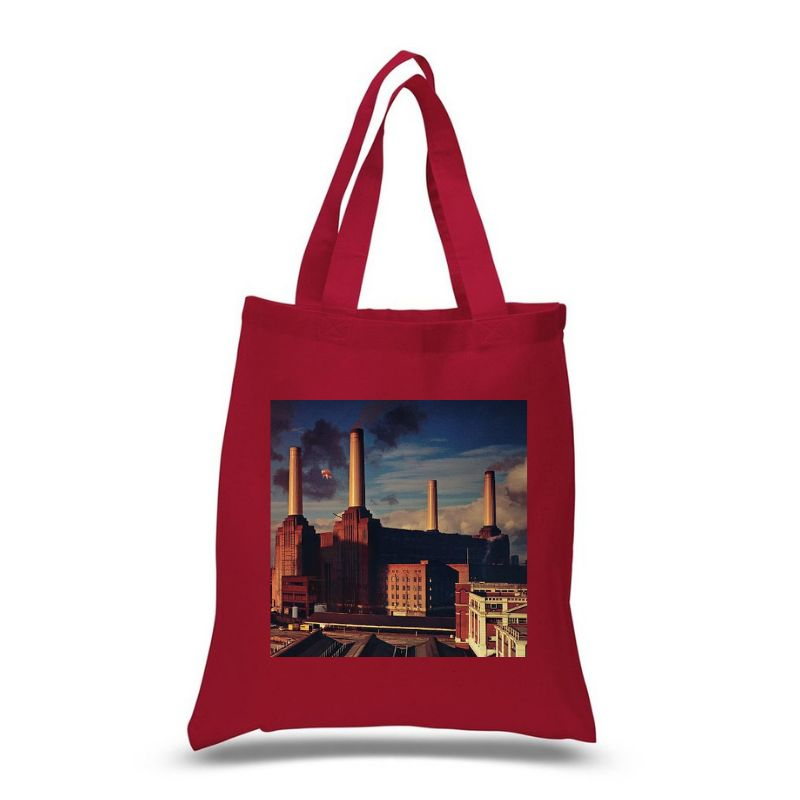Animals Red Tote Bag