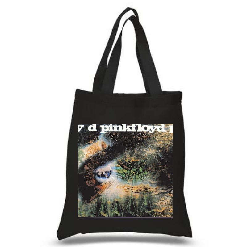 A Saucerful Of Secrets Black Tote Bag