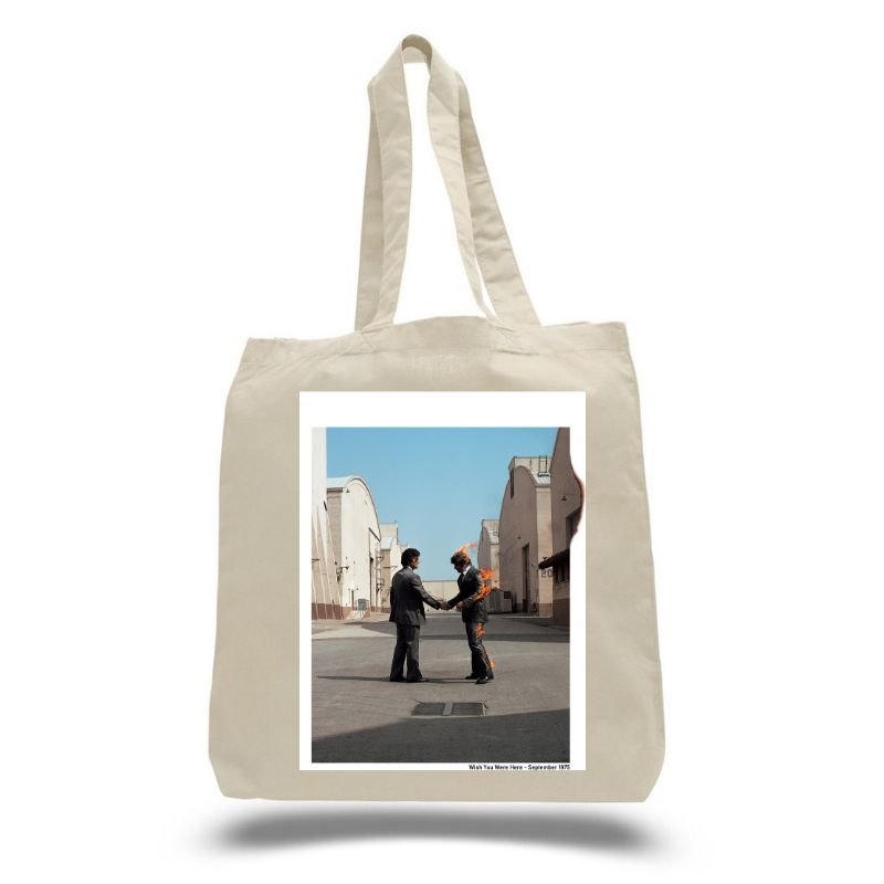 Wish You Were Here Natural Tote Bag