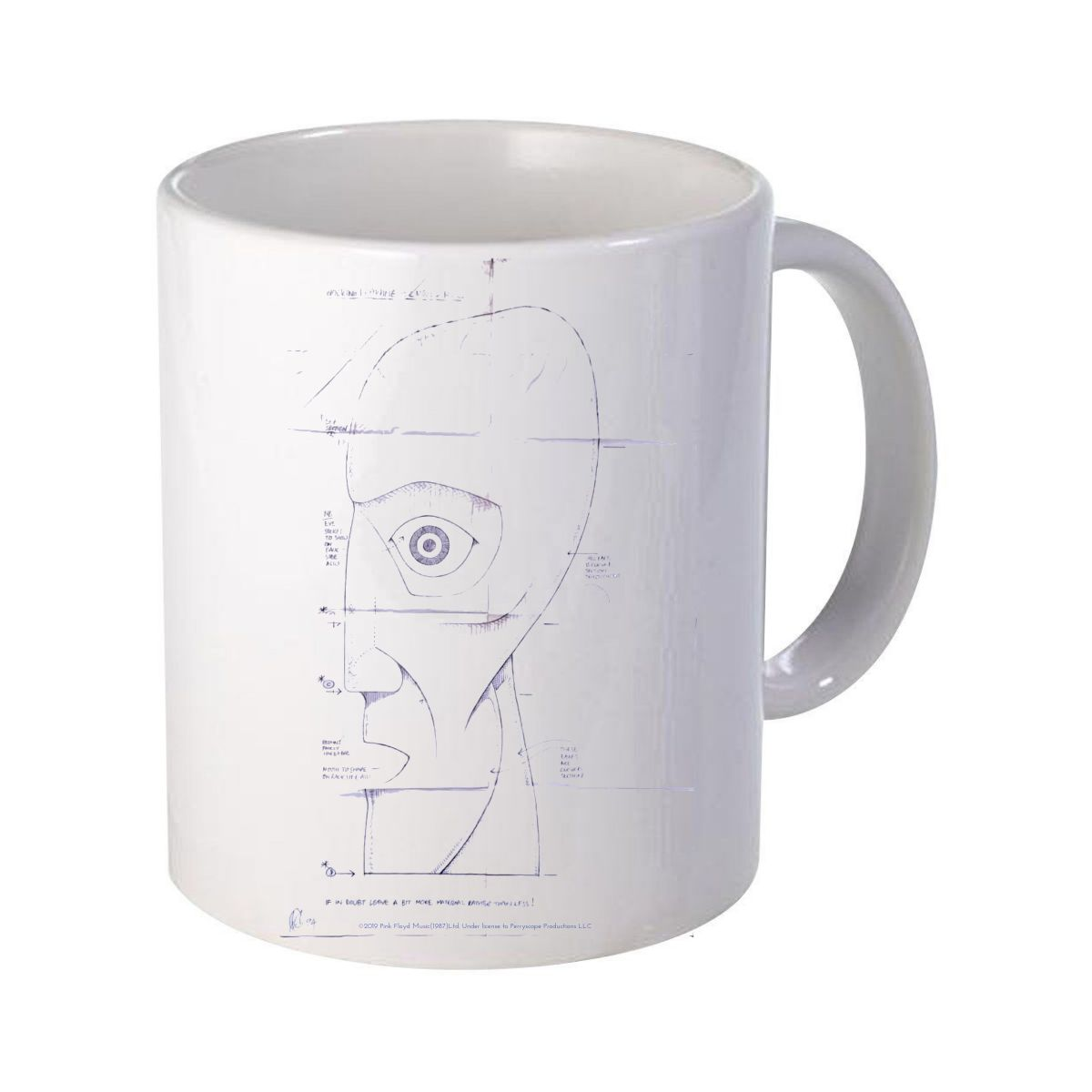 The Later Years Schematics Mug