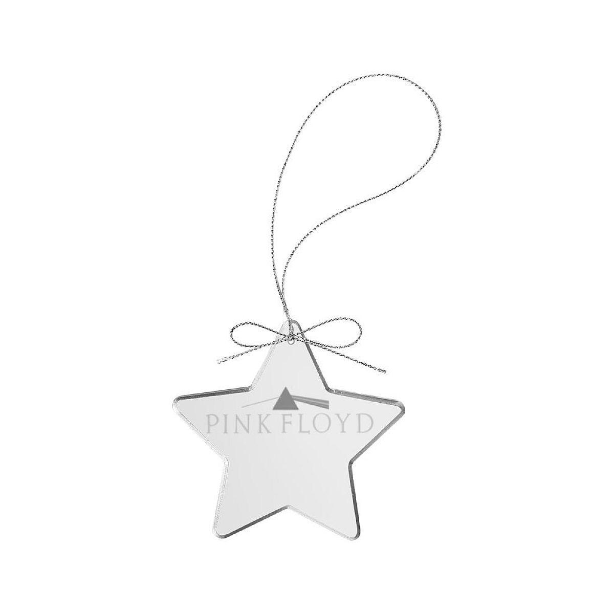 Dark Side Star Laser-Etched Glass Ornament