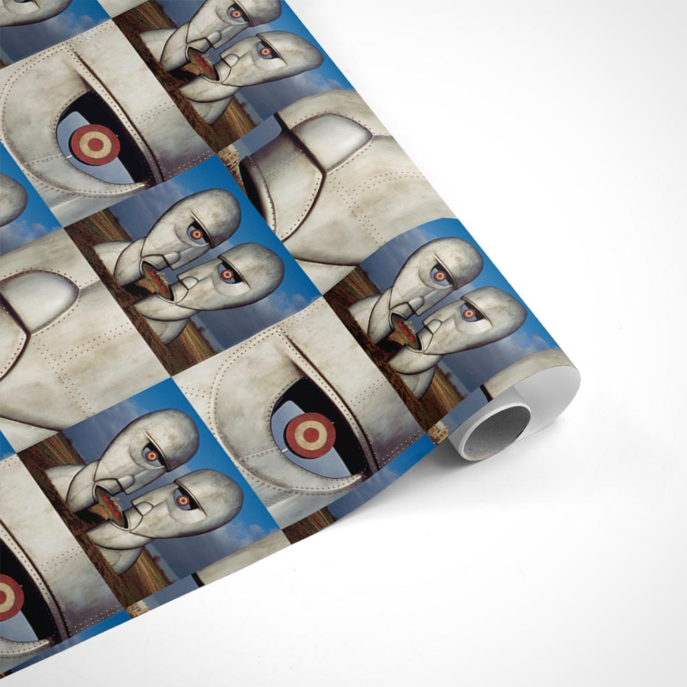 Pink Floyd 3 Metalheads Wrapping Paper