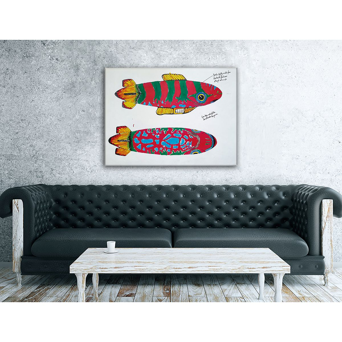 Blimp Sketches Wall Art