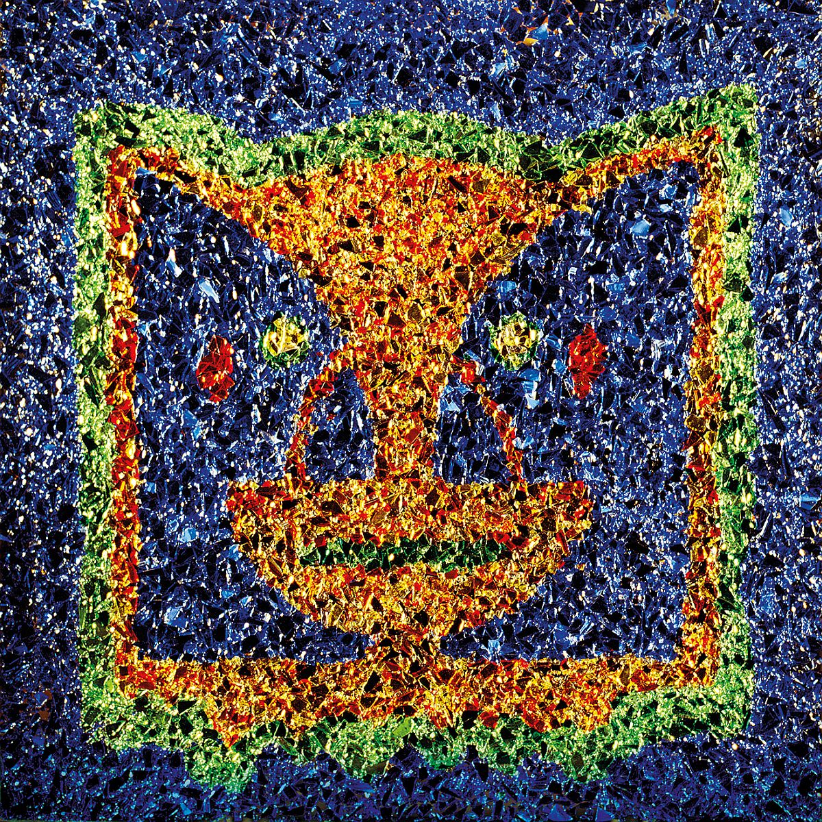 Division Bell Blue Wall Art