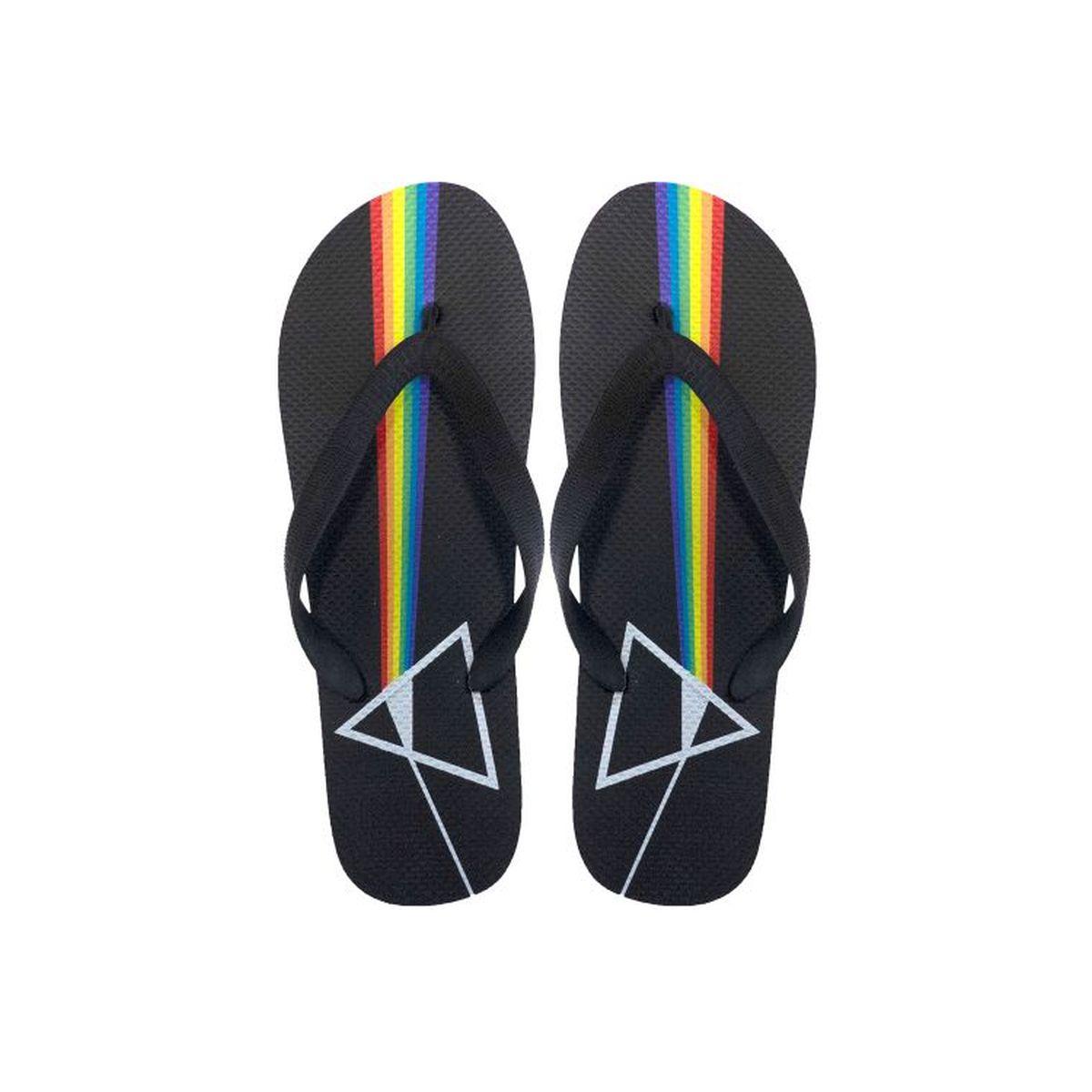 Pink Floyd DSOTM Prism Flip Flops