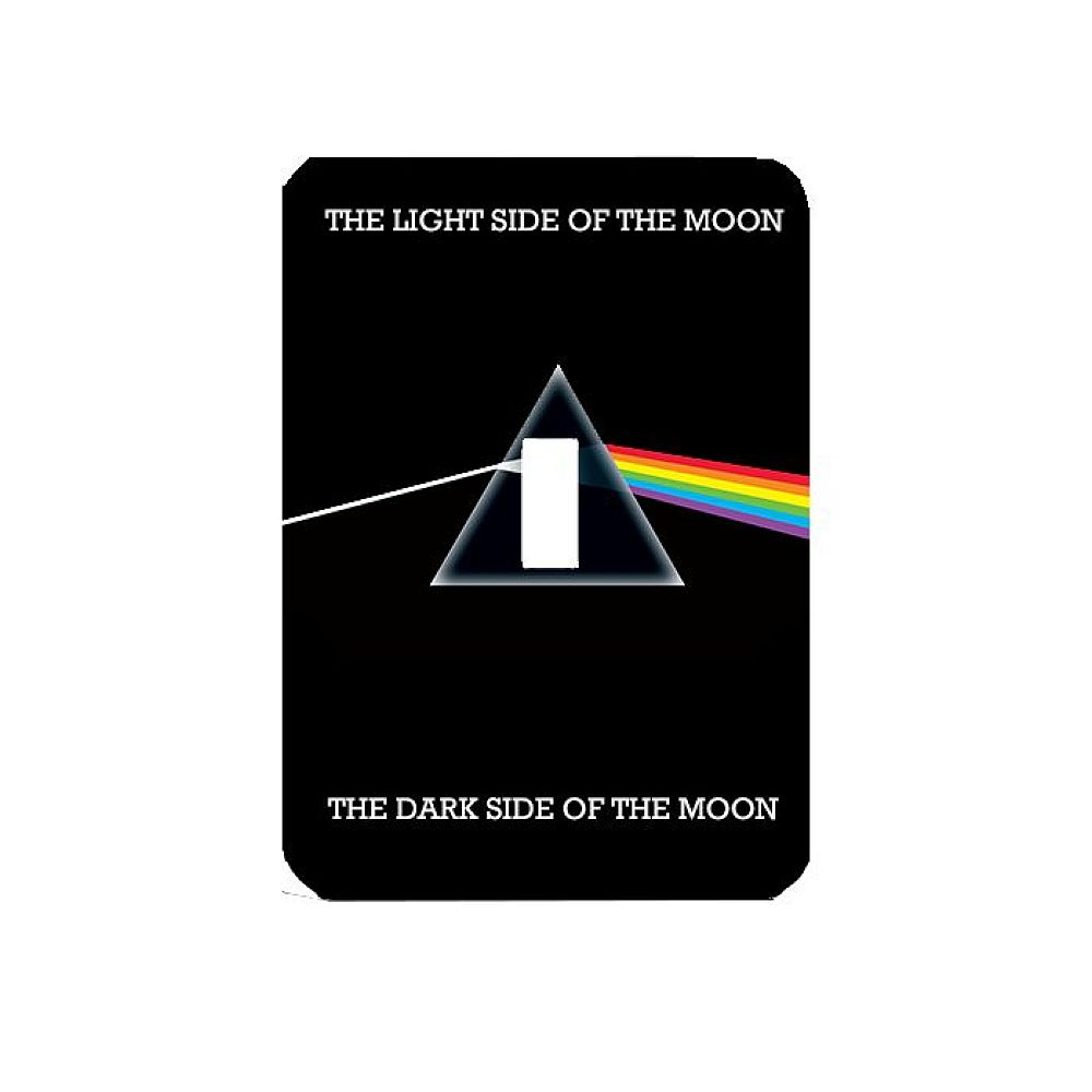 Dark Side Of The Moon Light Switch Plate