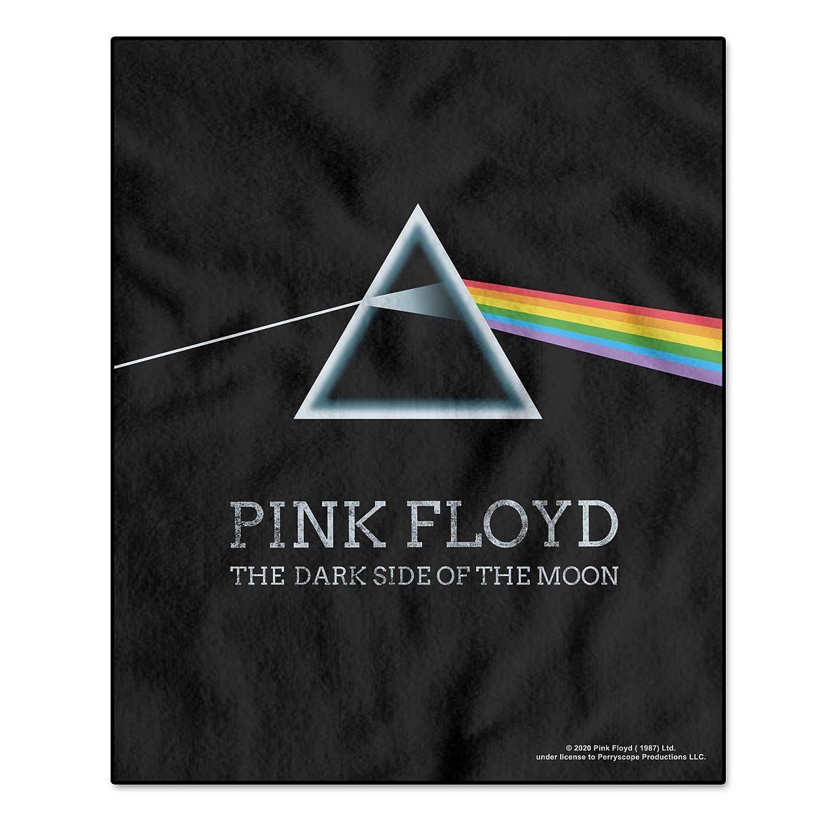 The Dark Side of the Moon Fleece Blanket