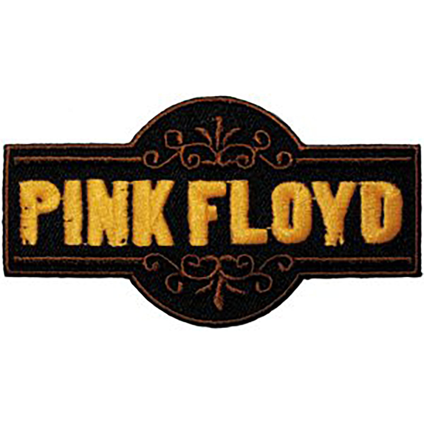 "Pink Floyd Fancy Logo 3.5""x2"" Patch"