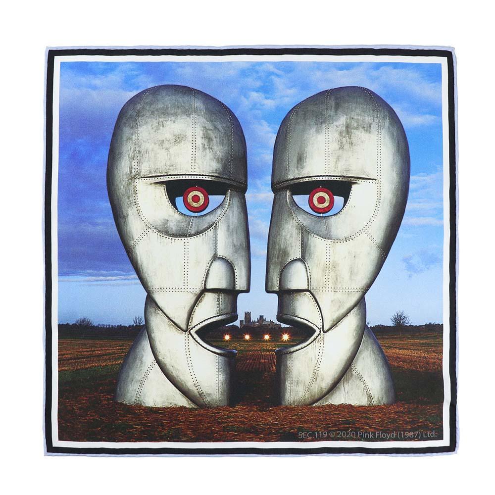 Pink Floyd Division Bell Pocket Square