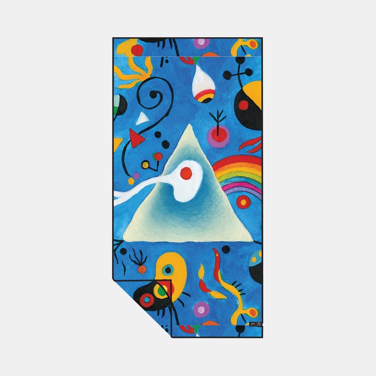 Pink Floyd Miro Quick-Dry Towel