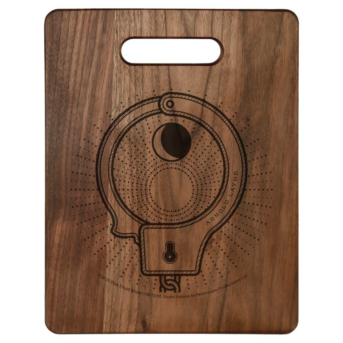 Aronol Layne Cuff Laser-Engraved Walnut Cutting Board