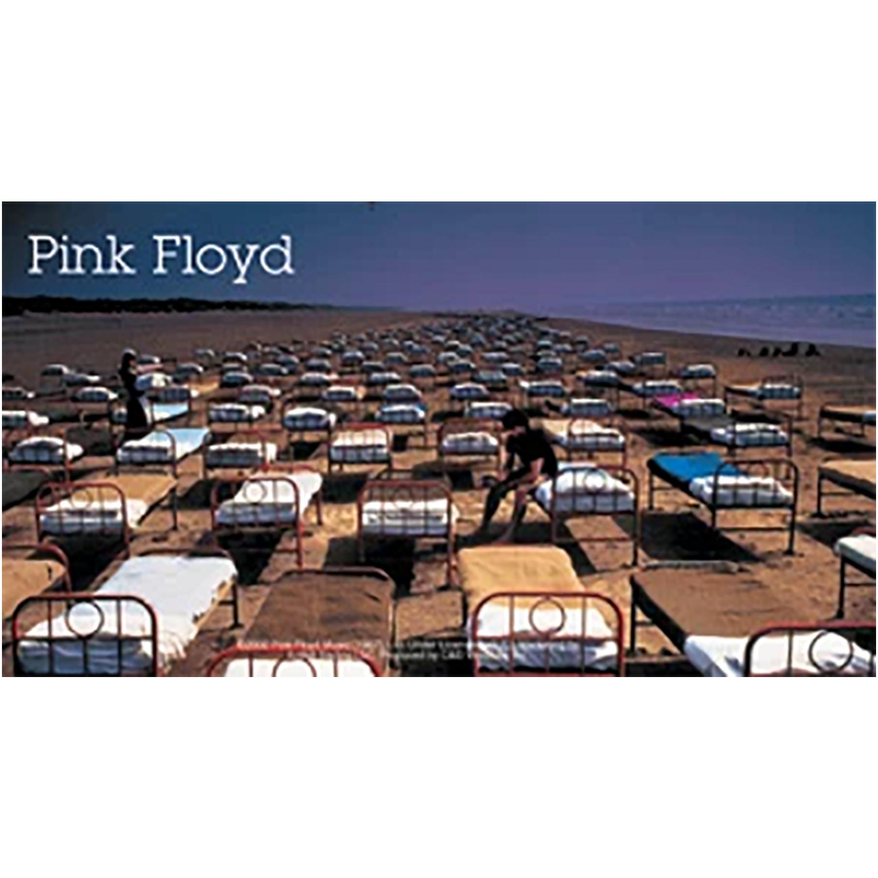 """Pink Floyd Bed 6""""x3.25"""" Sticker"""