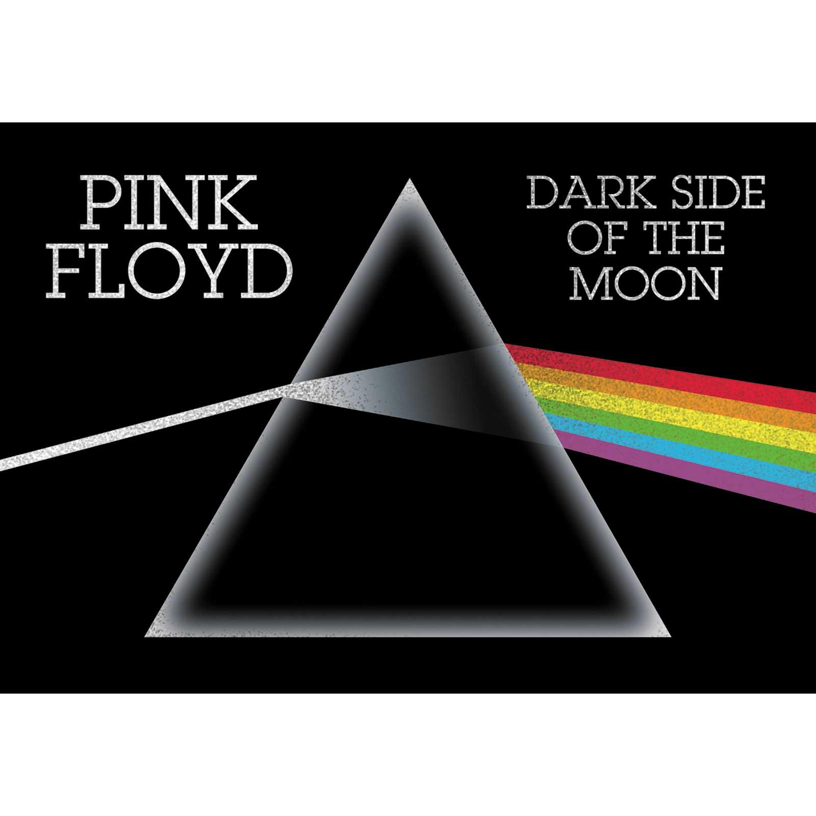 "Pink Floyd DSOM 5""x3.5"" Glitter Sticker"