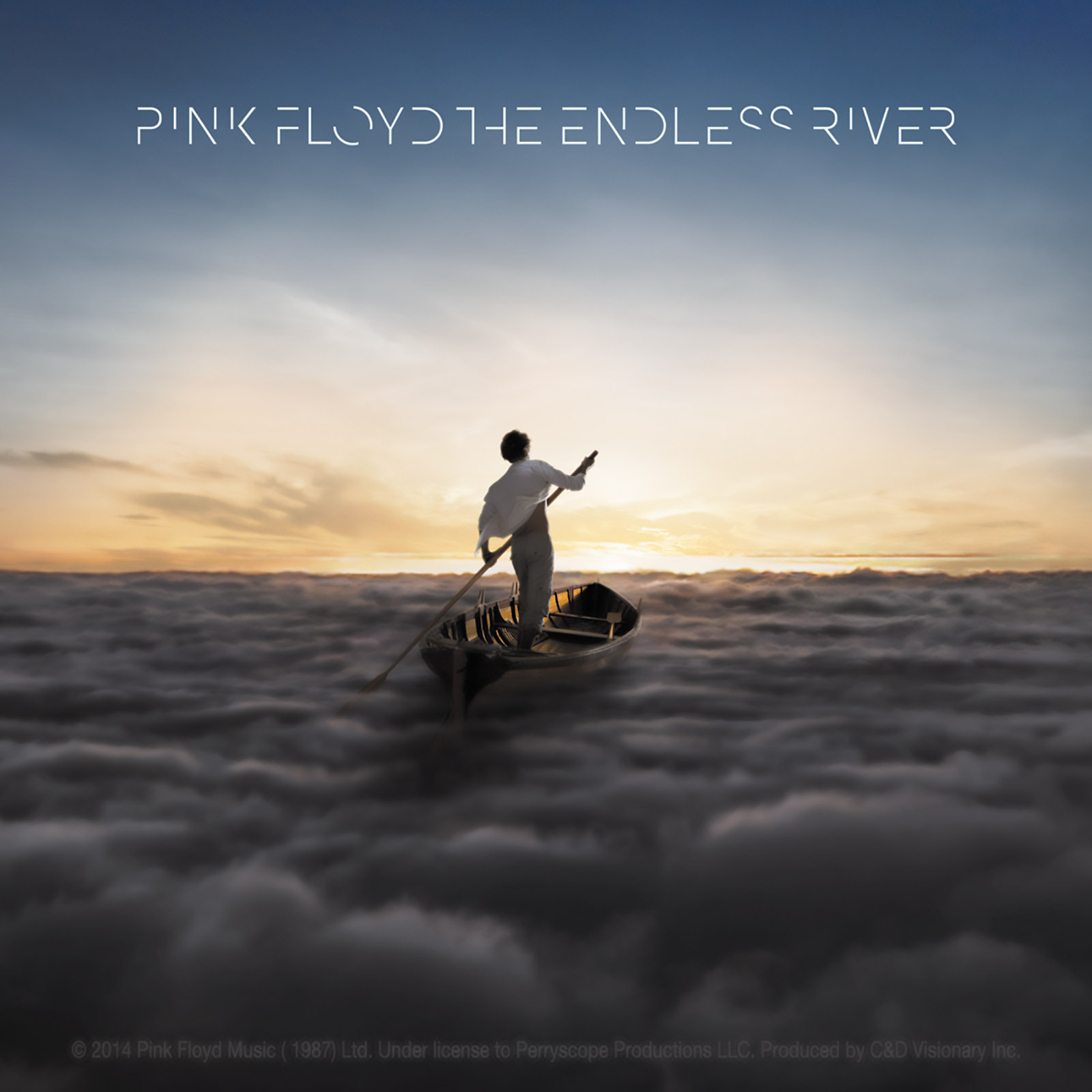 """Pink Floyd The Endless River 4""""x4"""" Sticker"""