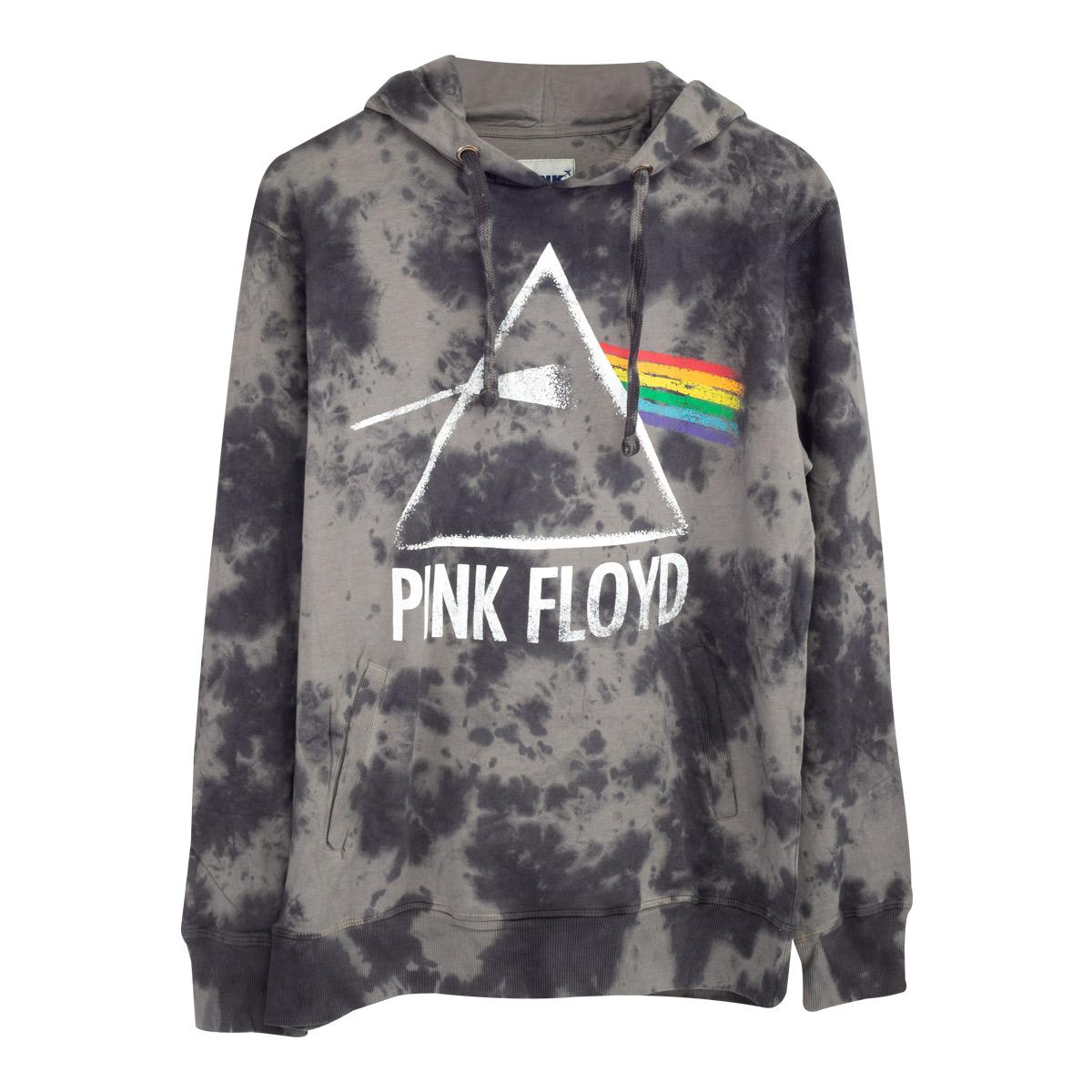 Pink Floyd The Dark Side of the Moon Prism Logo Black Pullover Hoodie