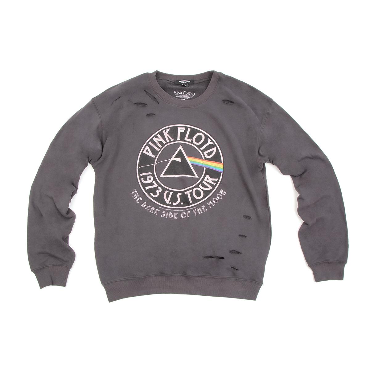 Distressed Dark Side 1973 Tour Sweatshirt