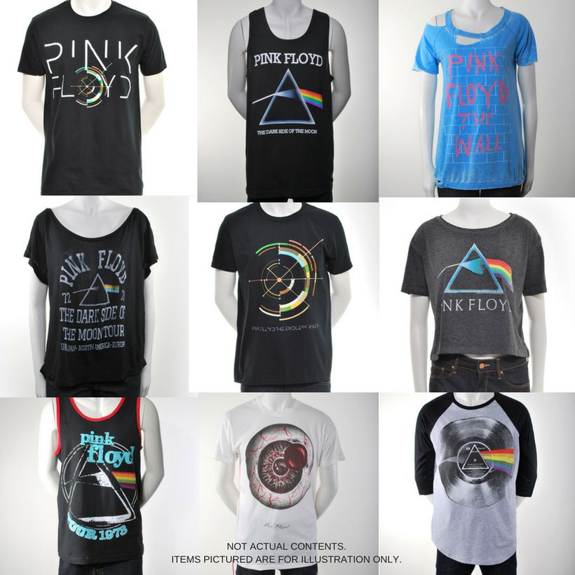 Pink Floyd Mens Grab Bag With Accessory