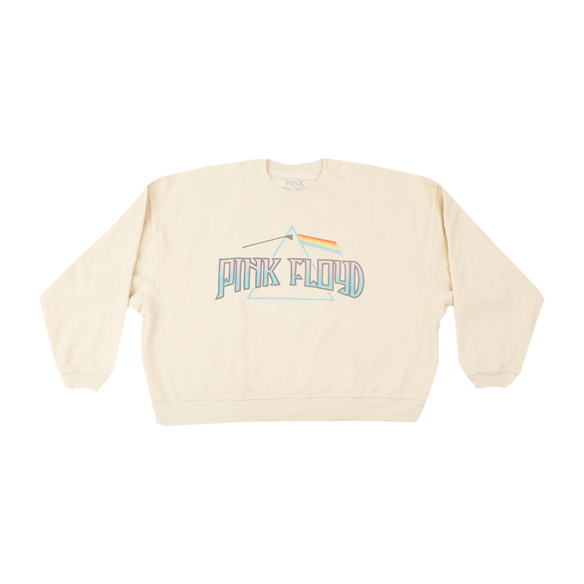 Pink Floyd Pastel Prism Logo Sweatshirt