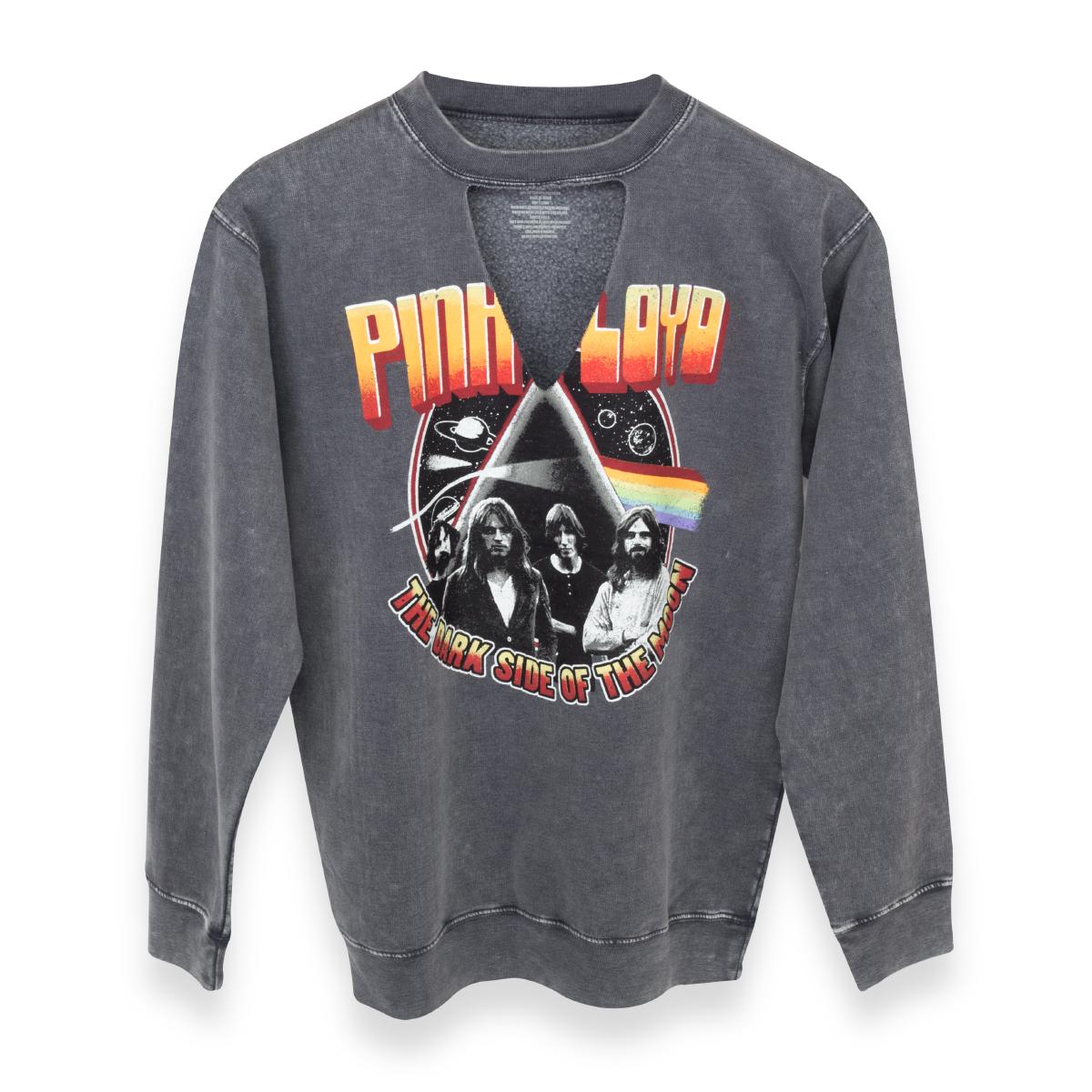 Pink Floyd Dark Side of Moon Prism/Space V Cut Sweater