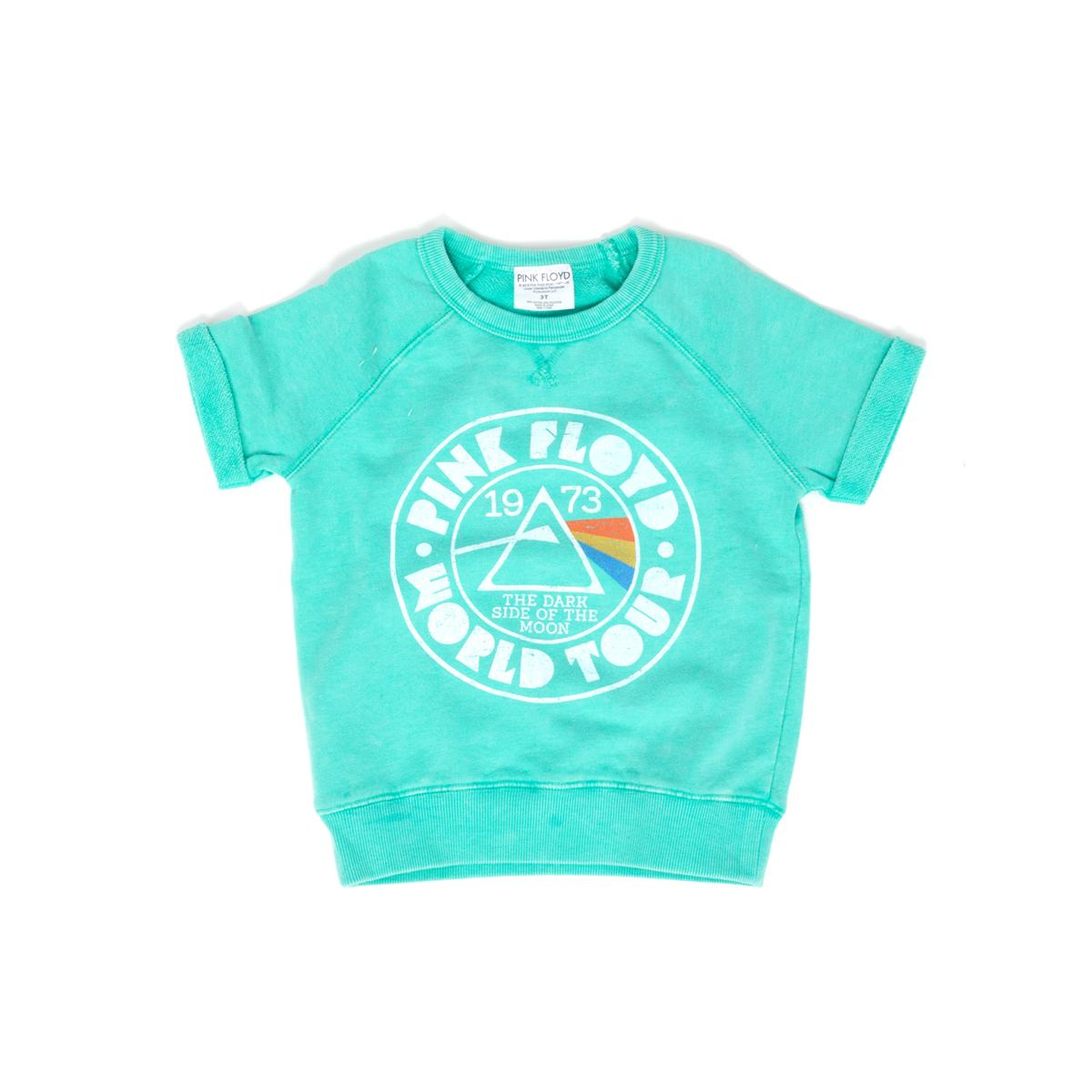 Pink Floyd 1973 Teal Kids Sweatshirt