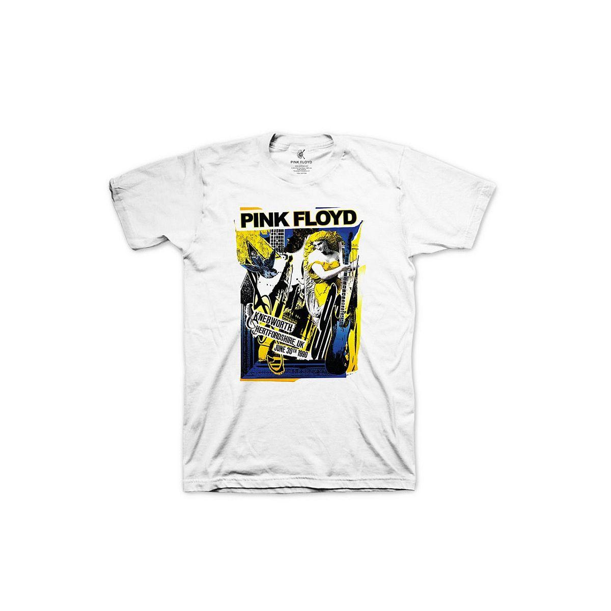 Pink Floyd Live at Knebworth 1990 White T-Shirt