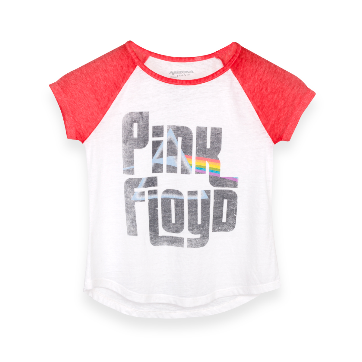 Pink Floyd Dark Side Youth White/Red T-Shirt