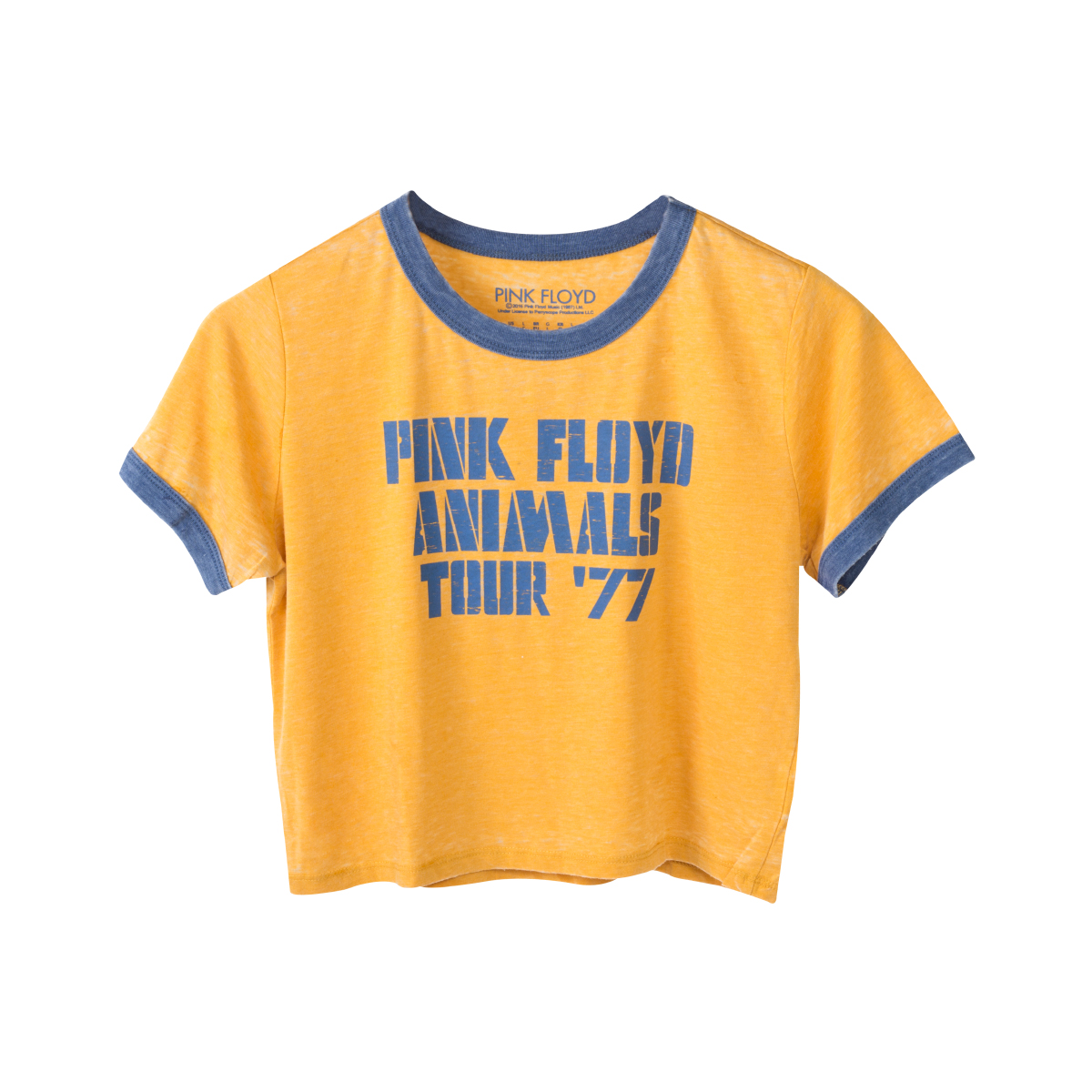 Pink Floyd Juniors Animals '77 Crop Top