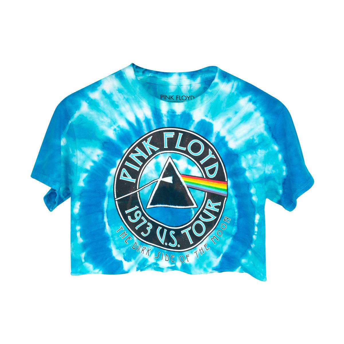 Pink Floyd Blue Girls Tie Dye T-shirt