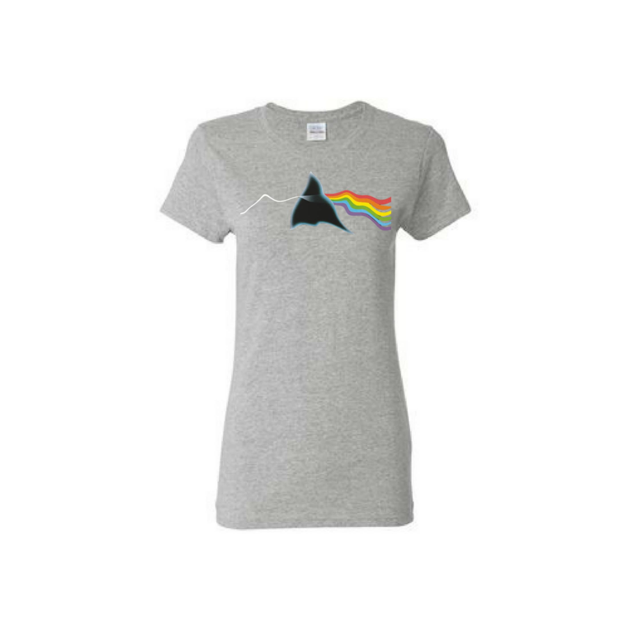 Prism Variations: Women's Distortion T-Shirt