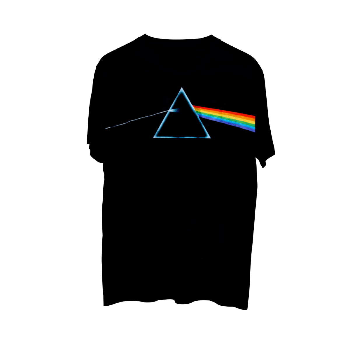 Pink Floyd The Dark Side of the Moon Classic Logo Black Athletic T-Shirt