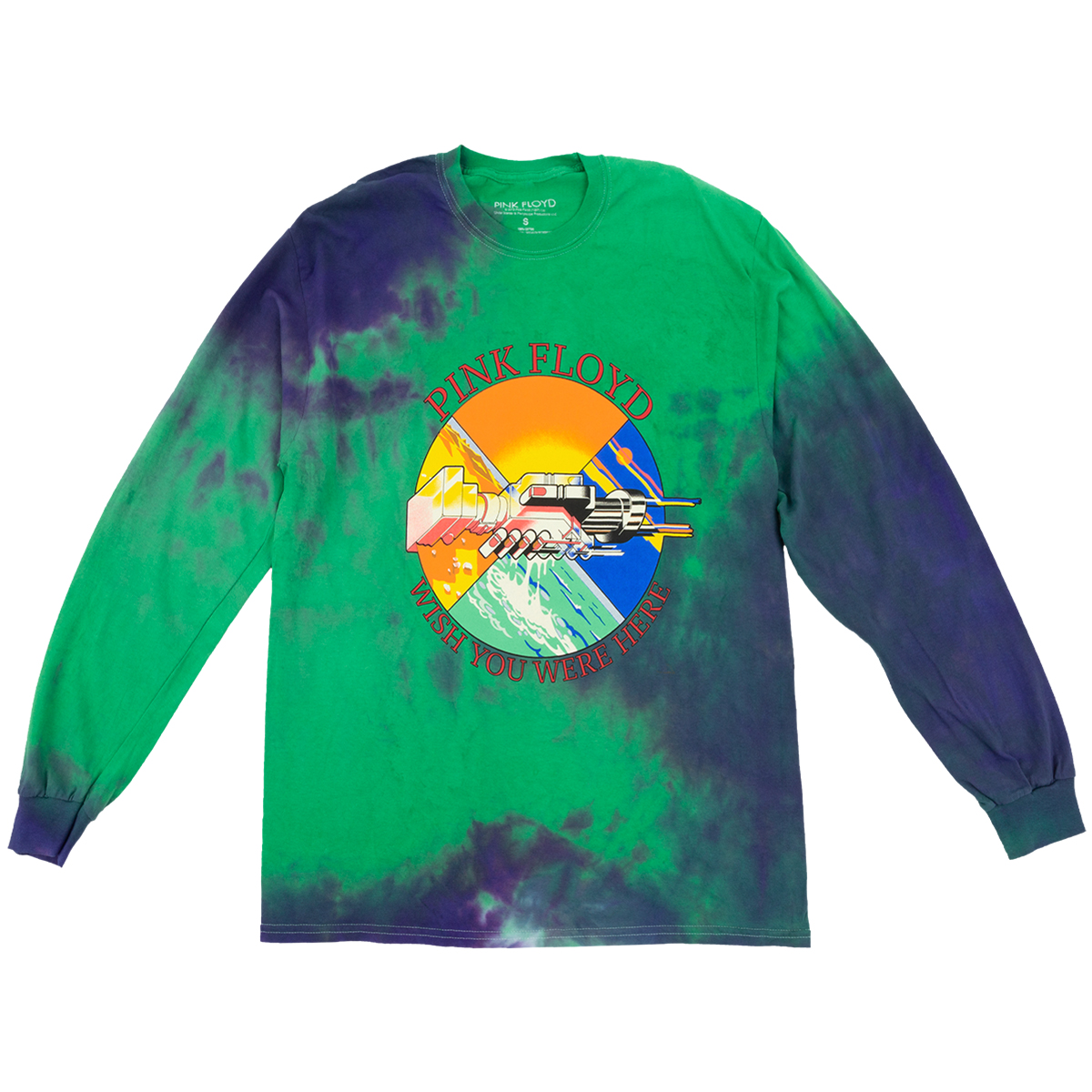 Wish You Were Here Tie Dye Longsleeve T-shirt