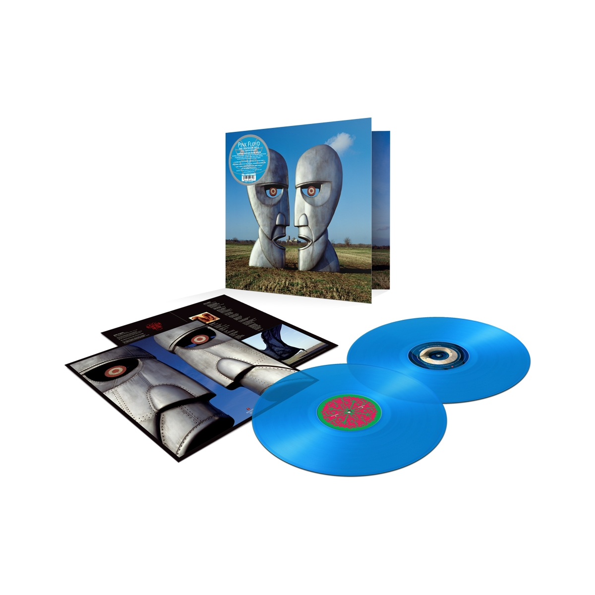 LIMITED EDITION - Division Bell 25th Anniversary Translucent Blue 2 LP