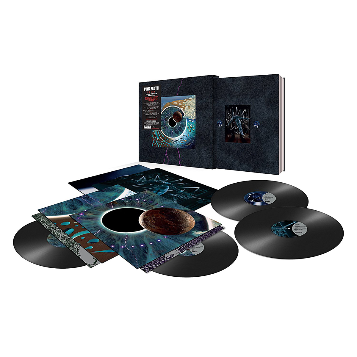 Pink Floyd PULSE 4 LP Boxed Set