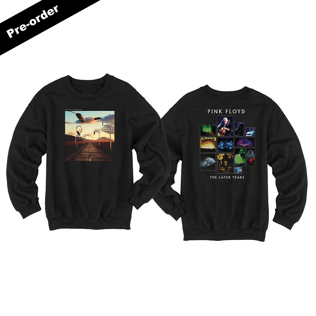 Pink Floyd The Later Years Boxed Set + Choice Of Apparel Item