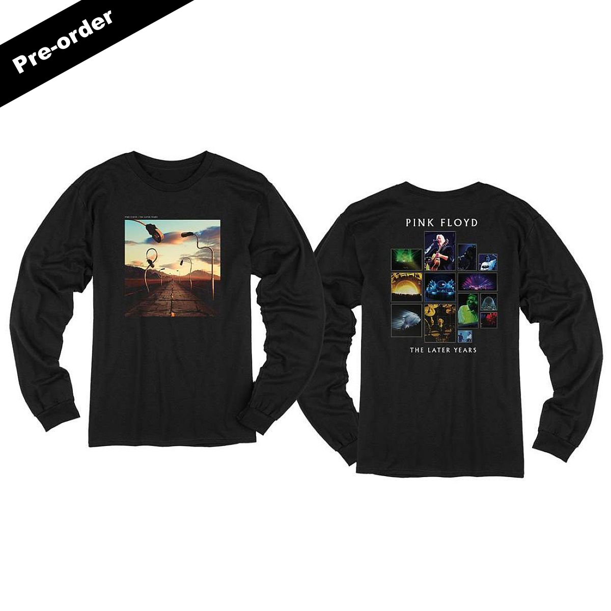 Pink Floyd The Later Years Highlights CD + Choice Of Apparel Item