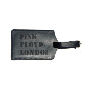 Pink Floyd Leather Luggage Tag