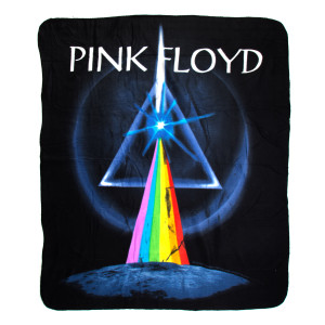 Pink Floyd Dark Side of The Moon Throw Blanket