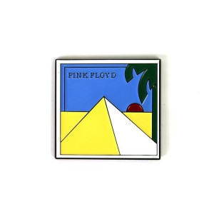 The Pink Floyd x Sloth Steady Pyramids Pin