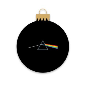 Holiday Side Of The Moon Ornament