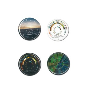 The Endless River 4 Button Set