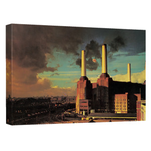 Pink Floyd/Animals-Canvas Wall Art With Back Board-White-[20 X 30]