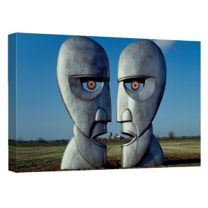 Pink Floyd/The Division Bell-Canvas Wall Art With Back Board-White-[20 X 30]