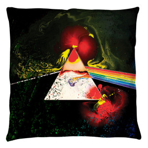 Pink Floyd/Dark Side Of The Moon - Throw Pillow - [16 X 16]